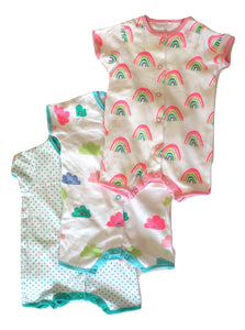 NEXT 3 Pack Bodysuits 0-3M