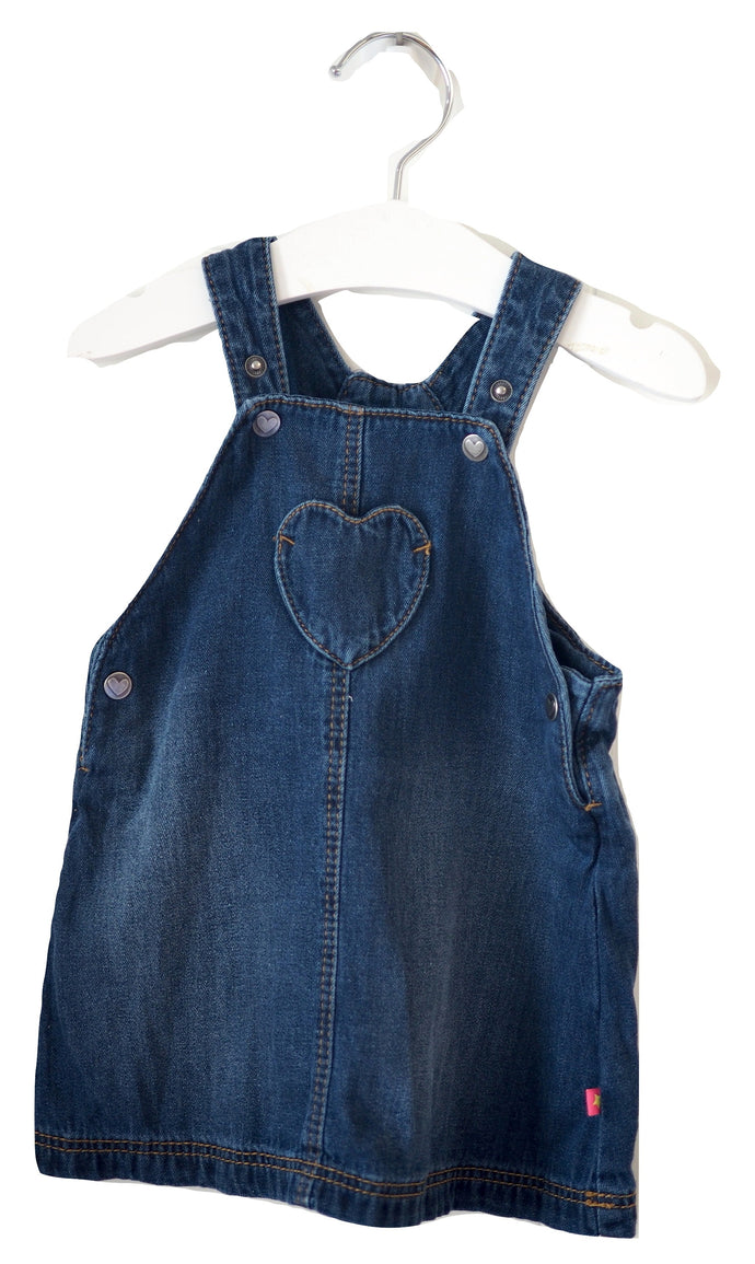 M&S Pinafore Dress 6-9M
