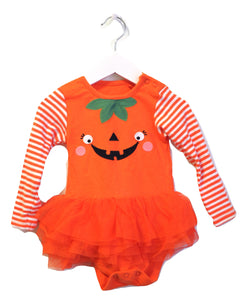 Tu Halloween Long Sleeve Bodysuit 6-9M