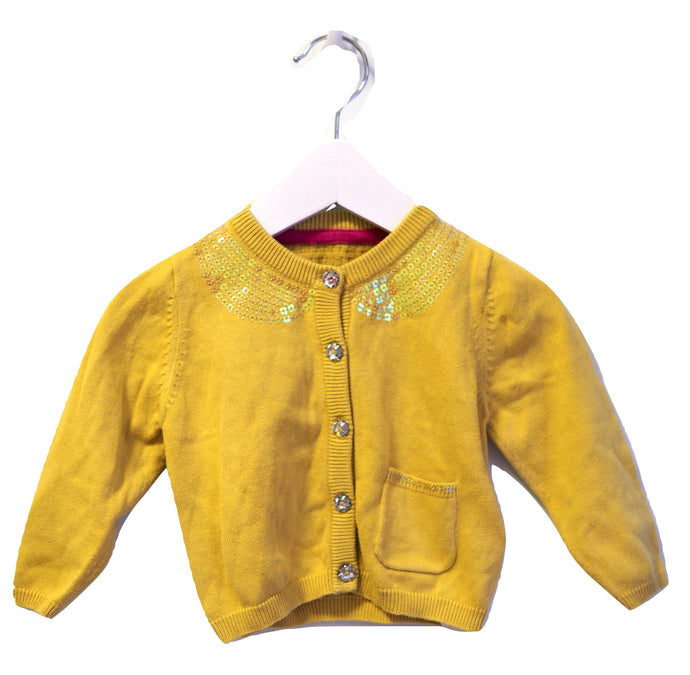 M&S Sequin Cardigan 6-9M
