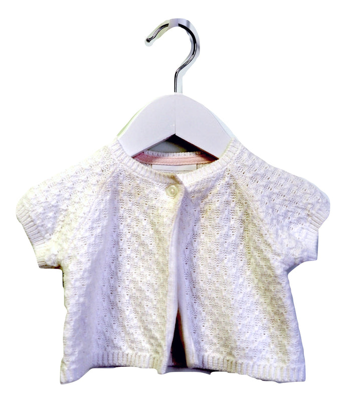 The Little White Company Cropped Cardigan 0-3M