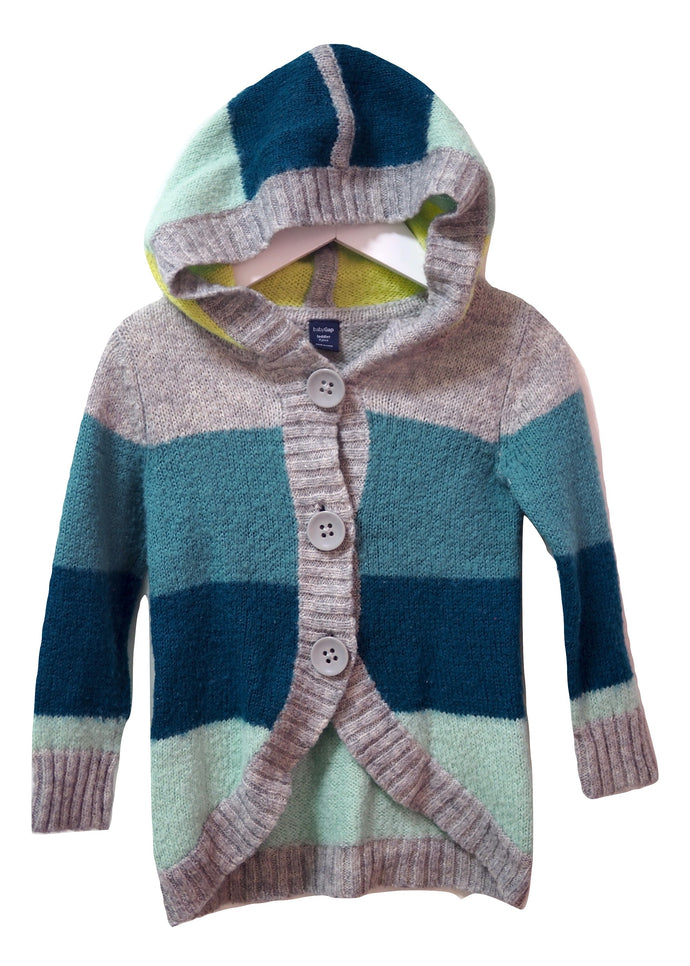 Gap Hooded Cardigan 3Y