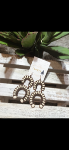 Double Horseshoe Earrings