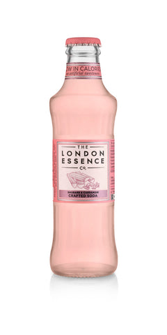 London Essence White Rhubarb & Cardamom Soda