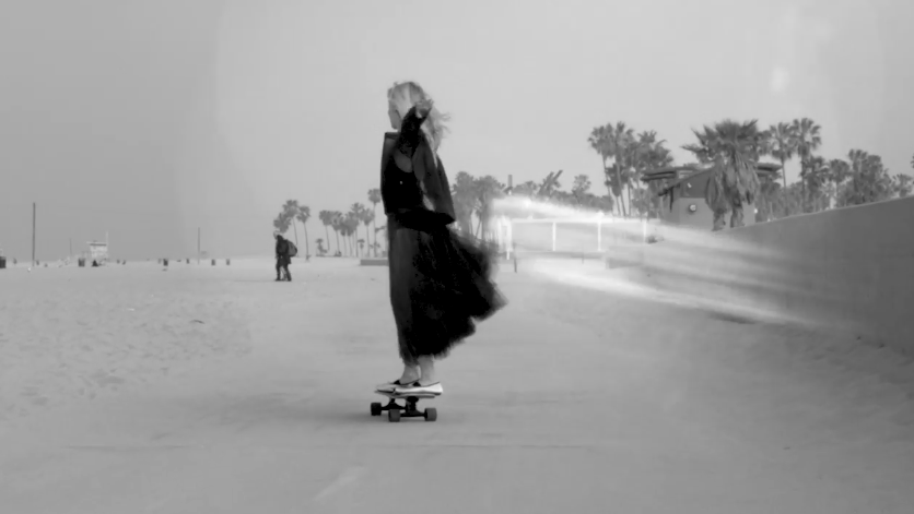 Repetto Skateboarding and Ballet. Femininity and Fashion. Mona Moore. GRLSWIRL