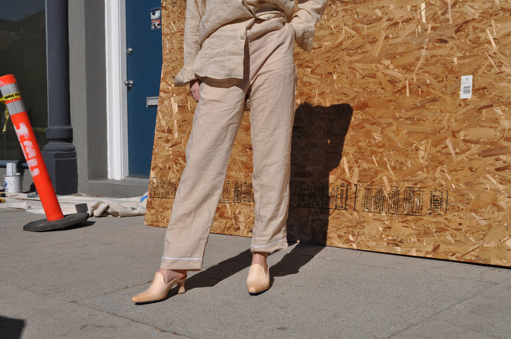 Cherevichkiotvichki Summer Suit Trouser, Tea