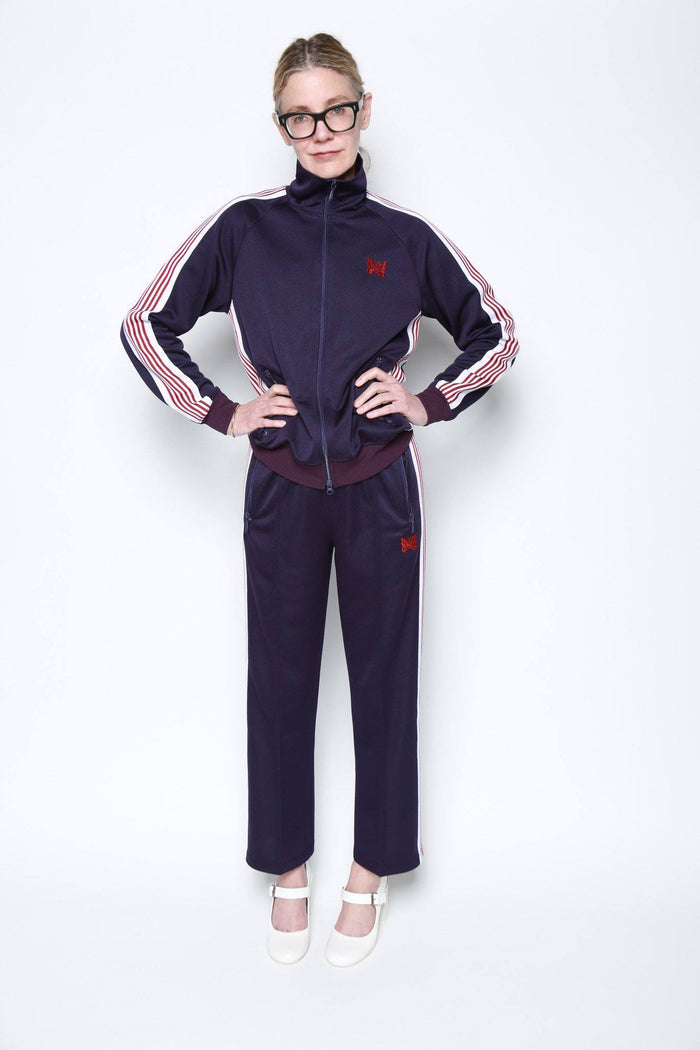 Needles Track Pant, Purple Bottoms