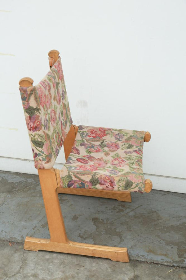 Mona Moore Floral Chair