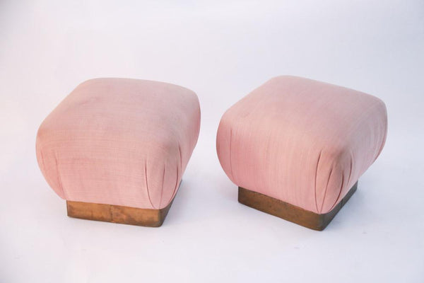 Mona Moore Pink Poufs