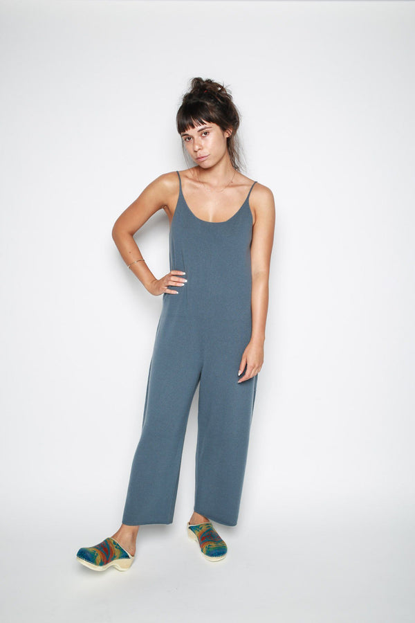 Arch The Arch The A19FW_035 Romper Blue Tops