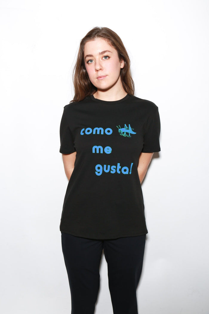 6397 Como Graphic Boy Tee, Jet Black Tops