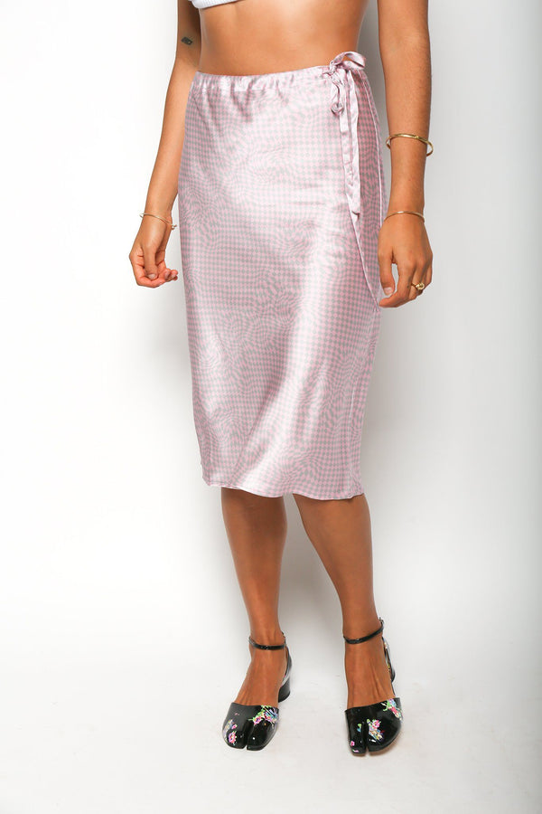 6397 6397 Drawing Skirt, Pink/Grey Dresses