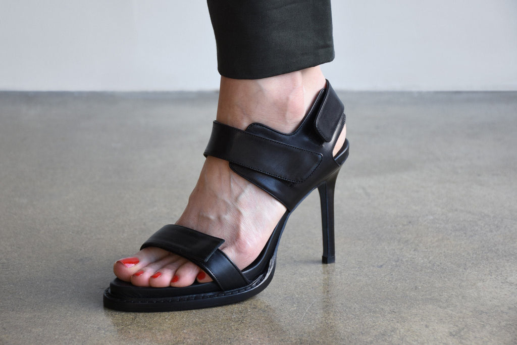 Heels, Vitello Nero
