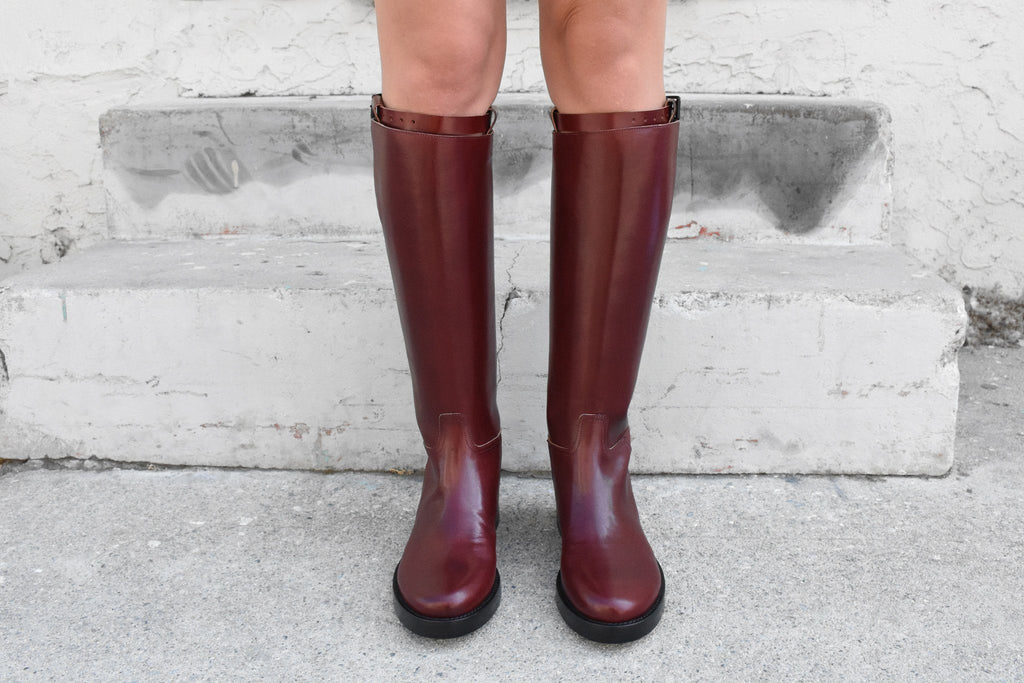 Tamponata Boot, Lux Bordeaux