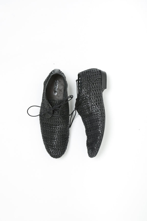 Marsell Antracocolo Derby Oxford, Black Oxfords + Loafers