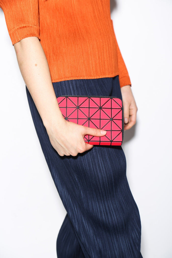 Issey Miyake Bao Bao Geometric Jam Wallet, Available in Three Color Options Bags Red