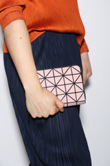 Issey Miyake Bao Bao Geometric Jam Wallet, Available in Three Color Options Bags Smokey Pink