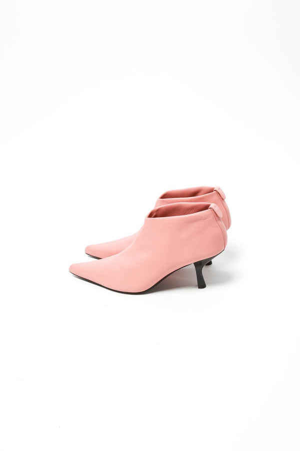 The Row Bourgeoise Stretch Bootie, Pale Flamingo Shoes