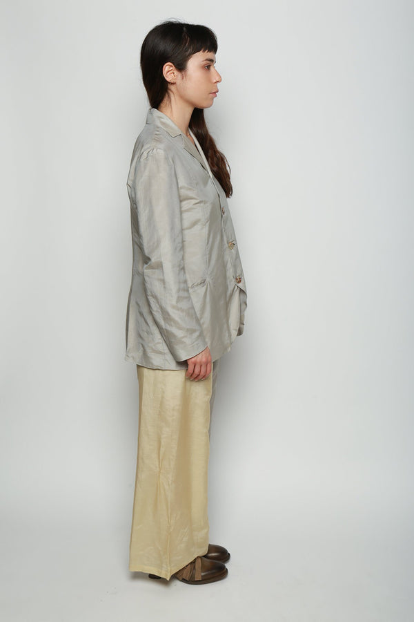 Cherevichkiotvichki Cherevichkiotvichki Relaxed Jacket, Grey As Is Coats + Jackets