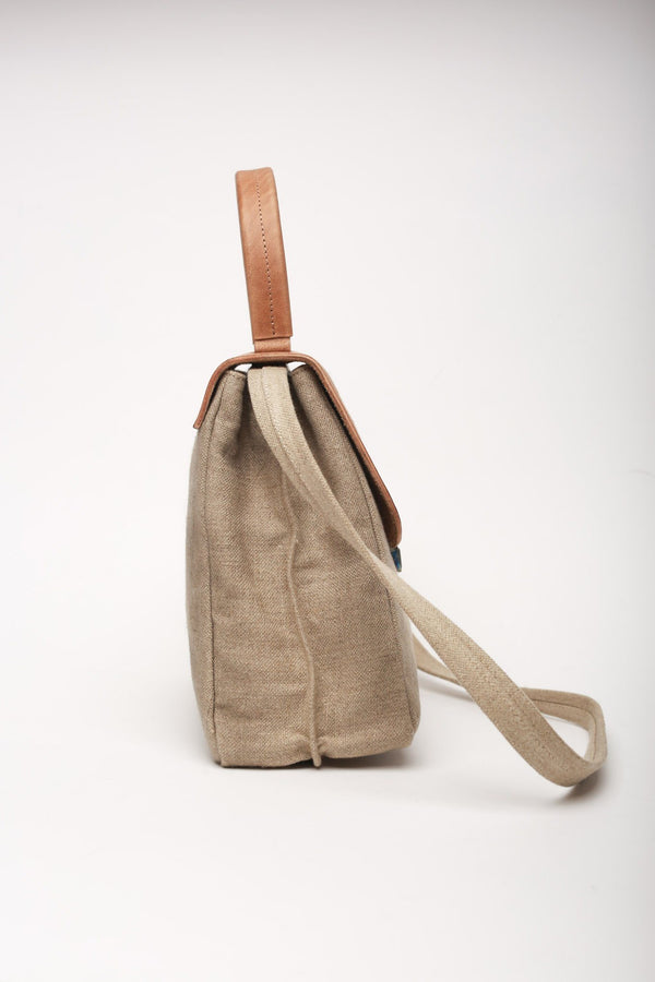 Cherevichkiotvichki Small Lock Bag, Natural Bags