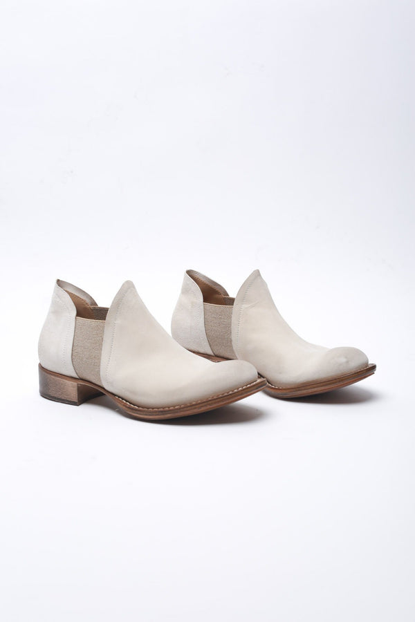 Cherevichkiotvichki Two Piece Slip On Boot Blake Rapid, White Boots