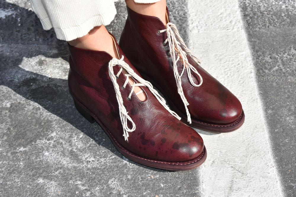 One Piece Boot, Bordeaux