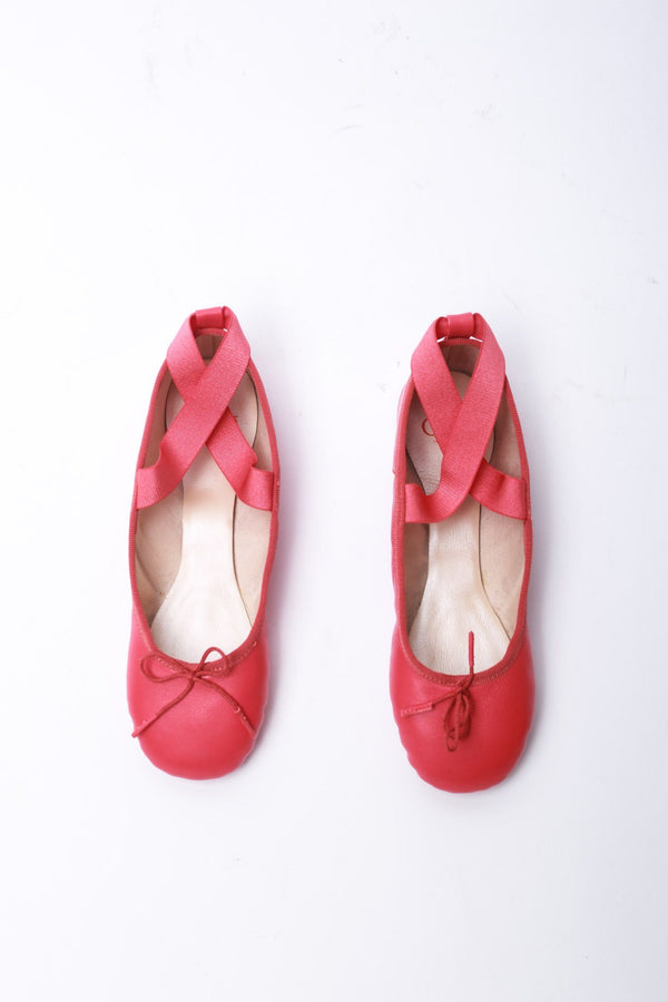 Opera de Paris Delia Barre Slippers, Pink Shoes