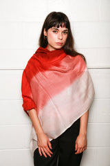 Dianora Salviati Fenice Cashmere Scarf, Available in Three Colorways Scarves PINK