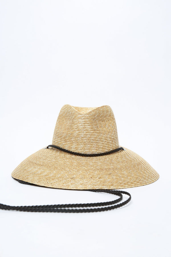 Filù Hats Lifeguard Straw Hat, Natural Wheat Scarves
