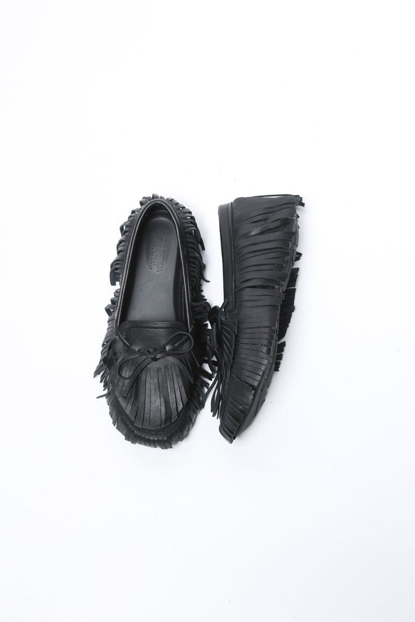 Giambattista Valli Moccasin Sneaker Loafer, Black Shoes