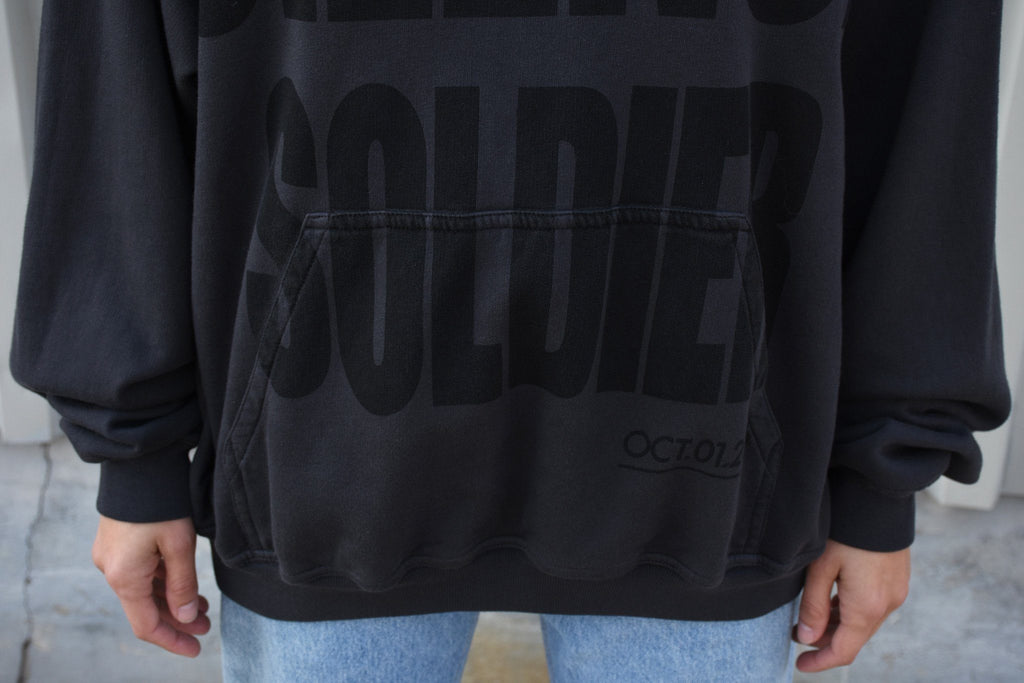 "Perth ""Silence Soldier"" Hoodie, Anthracite"