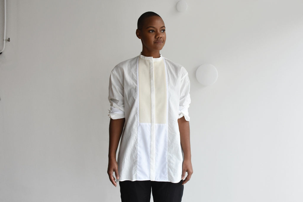 Shirt, Aconite Ivory + White