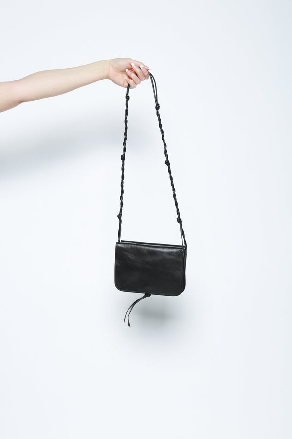 Jil Sander Small Tangle Multipouch Bag, Black Bags