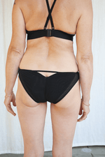 La Fille d'O Float Ride Briefs, Noir underpinnings