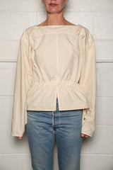 Sweater Blouse, Cream