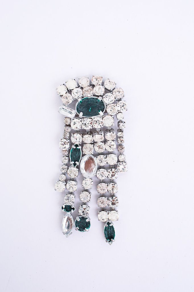 Brooch, White & Green, Jewelry, Maison Margiela, Mona Moore
