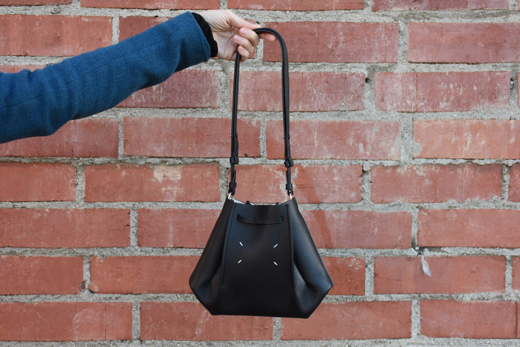 Small Triangle Bag, Black
