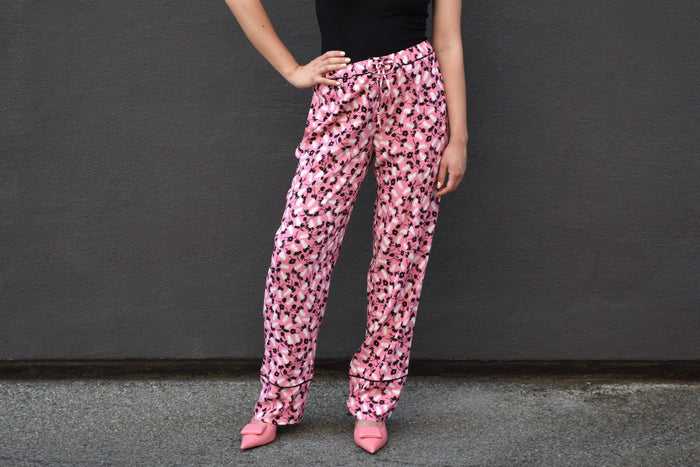Pajama Trouser, Pink Candy, Bottoms, Marni, Mona Moore - Mona Moore