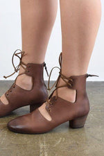 Marsèll Size 36, Coltello Inverno Lace-Up Heel, Brown Heels
