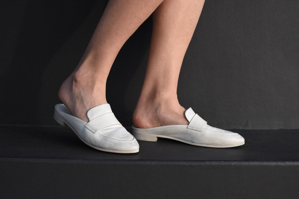 Colteldino Slip On Loafer, White