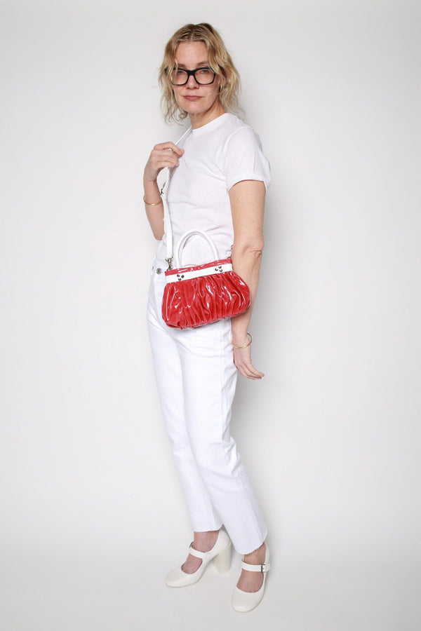 Molly Goddard Petit Ava Bag, Red Bags