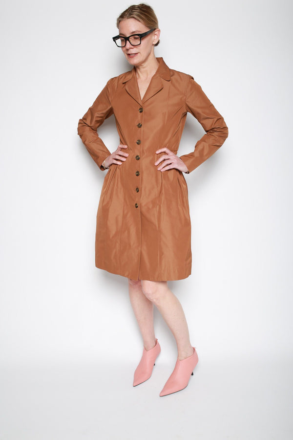 Molly Goddard Maggie Coat, Brown Jackets + Coats