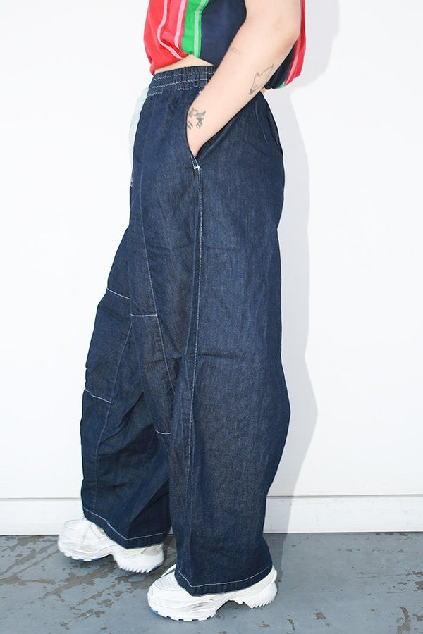 Needles H.D. Pant 6oz Denim, Indigo Bottoms