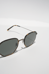 Alland, Tortoise + Carbon Grey, Sunglasses, Oliver Peoples, Mona Moore