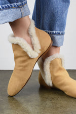 The Row Size 36, Eros Ankle Boot, Warm Beige Boots