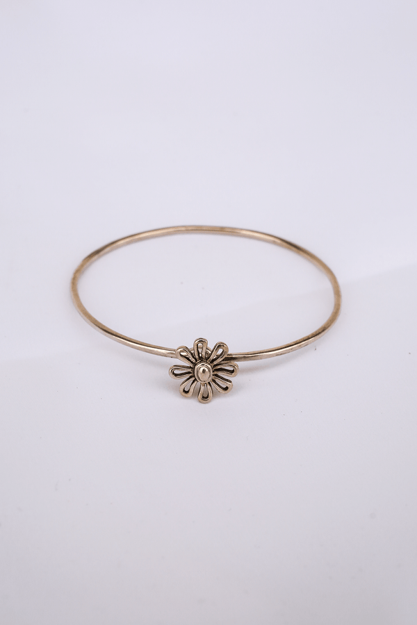 Vintage Tiffany & Co. Paloma Picasso Daisy Bangle, Sterling Silver Jewelry
