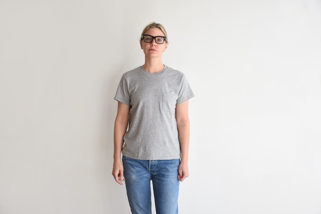 1970s Boyfriend Tee, Heather Grey