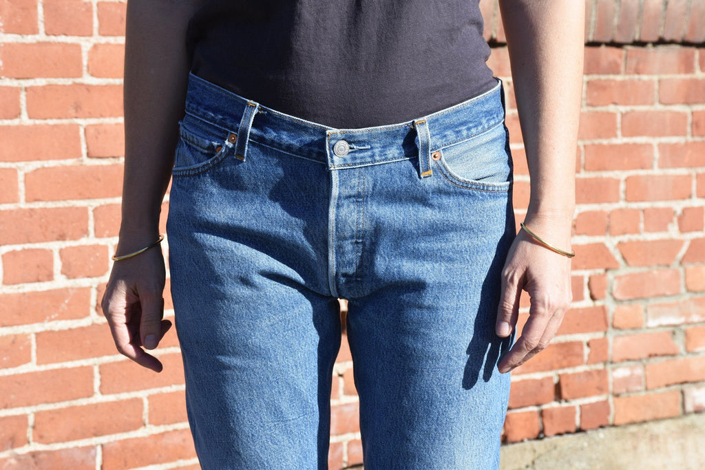 Relaxed Crop, Denim Blue