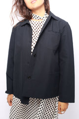 Boxy Jacket, Black