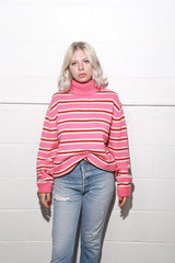 Faye Jumper, Pink, Tops, Shrimps, Mona Moore